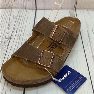 0dc1d2c0924 Birkenstock Shoes - Birkenstock Arizona Tabacco Brown Leather Size 39M